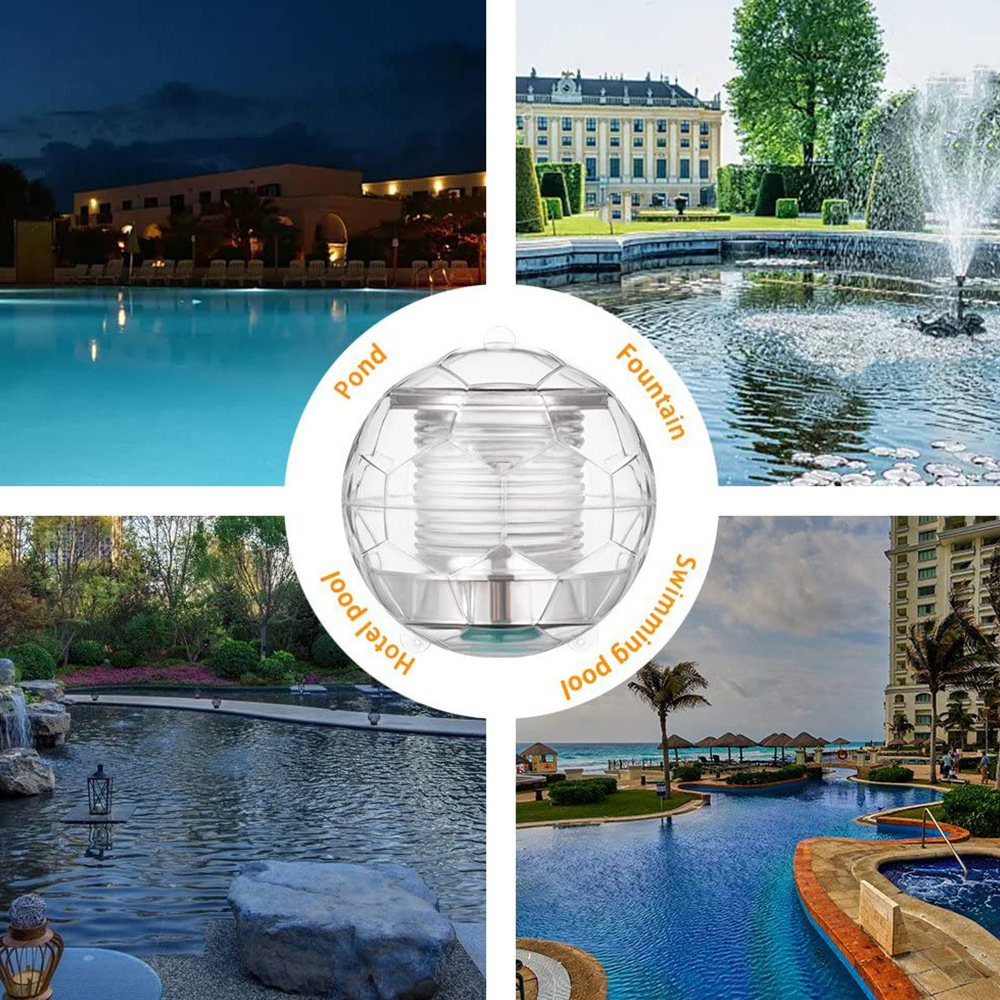 Solar Powered Color Changing LED Floating Pool Lights_8