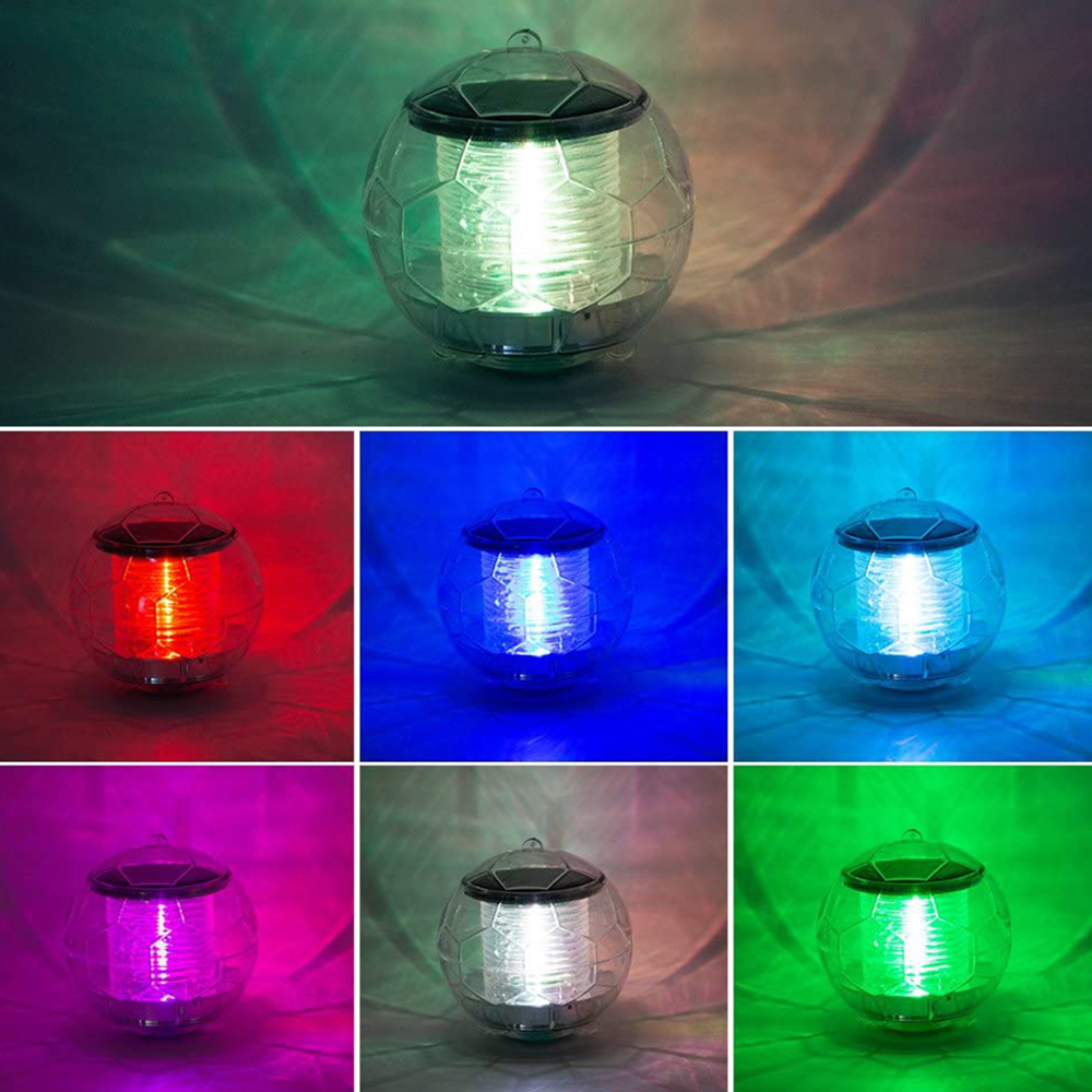 Solar Powered Color Changing LED Floating Pool Lights_1