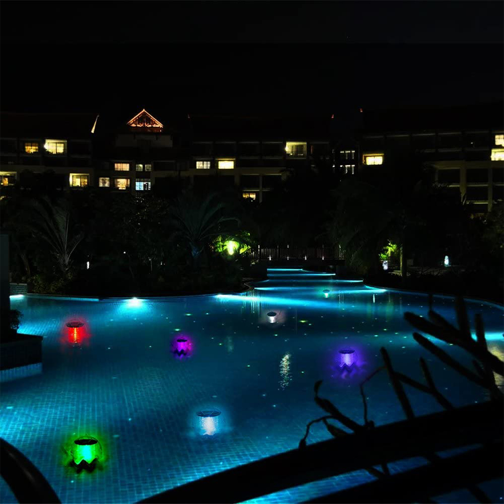 Solar Powered Color Changing LED Floating Pool Lights_2