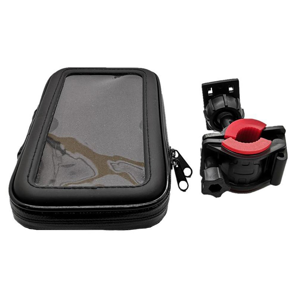 Waterproof Bike Handlebar Mobile Phone Holder for 6.3-inch Mobile Phones_3