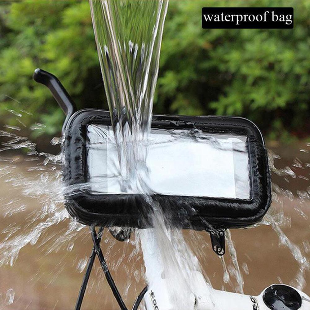 Waterproof Bike Handlebar Mobile Phone Holder for 6.3-inch Mobile Phones_1
