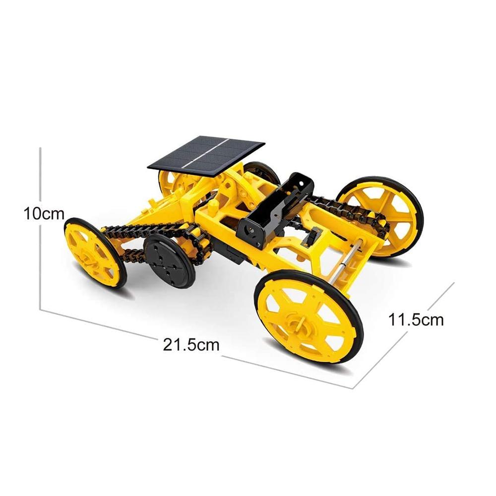 DIY Electric Engineering Blocks Solar Powered STEM Educational Toy Vehicle_8