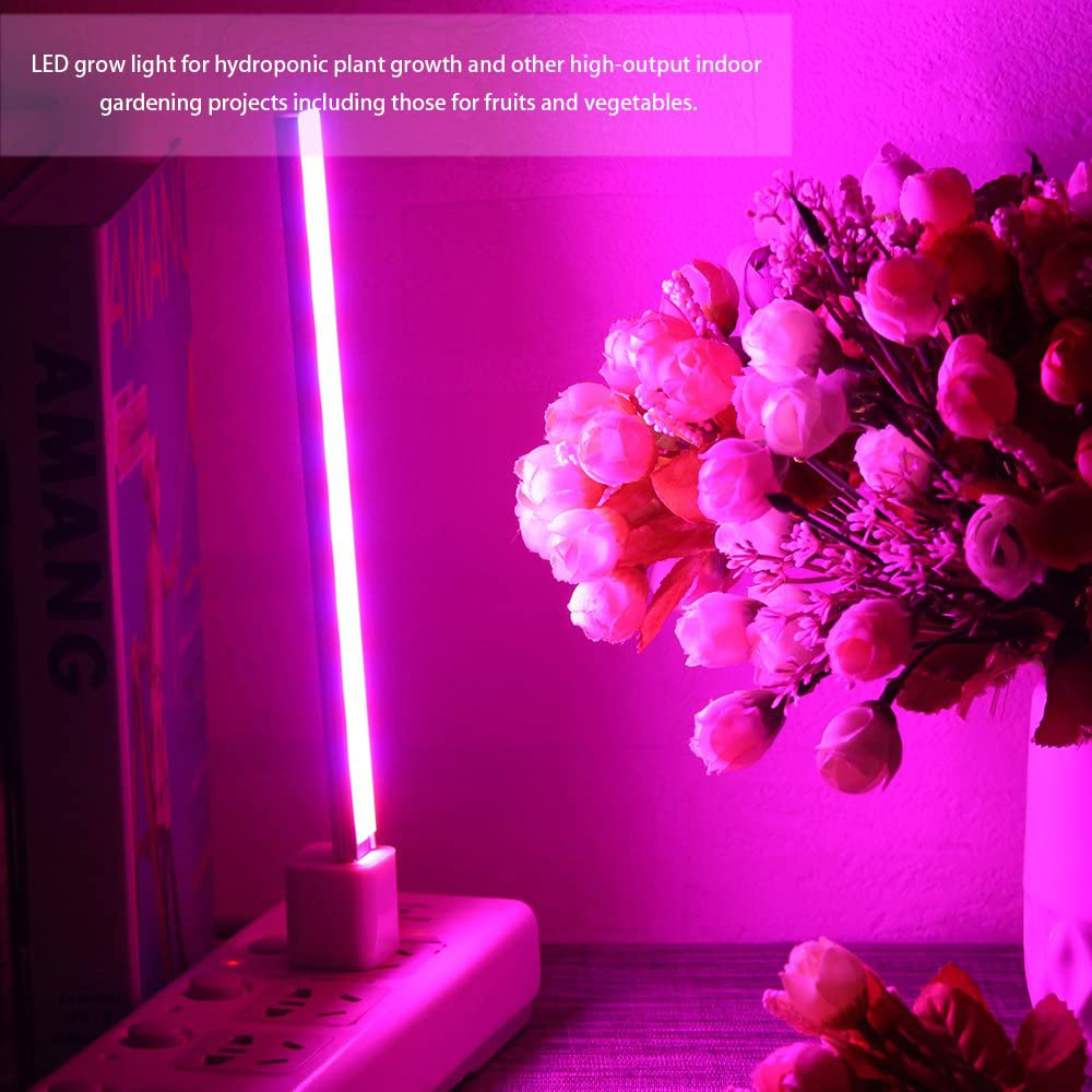USB Interface LED Growing Plant Light Bar for Desktop Plant and Flowers_4
