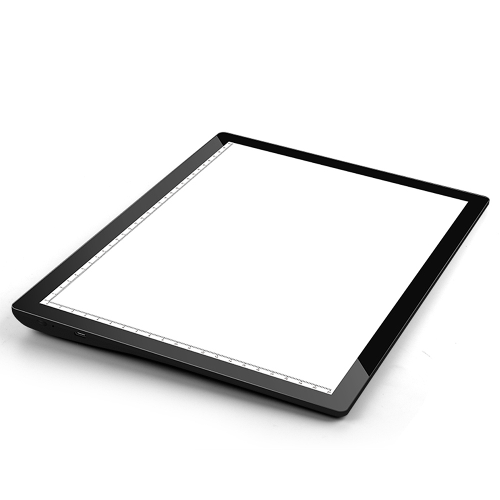 USB Rechargeable A4 Magnetic Pad Guide Light Tracing and Drawing Board_1