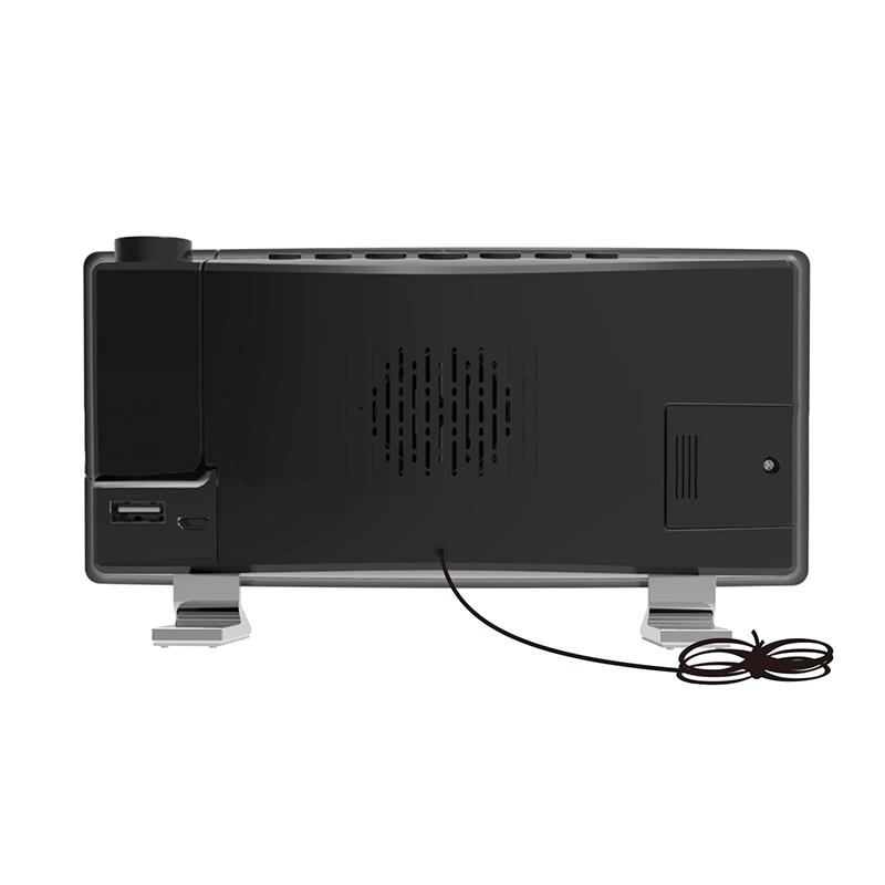 Projector FM Radio LED Display Alarm Clock_7