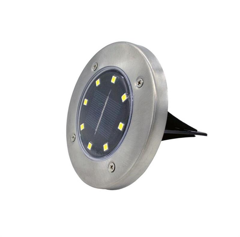 Pack of 4 Solar Powered LED Outdoor Solar Garden Ground Lights_7