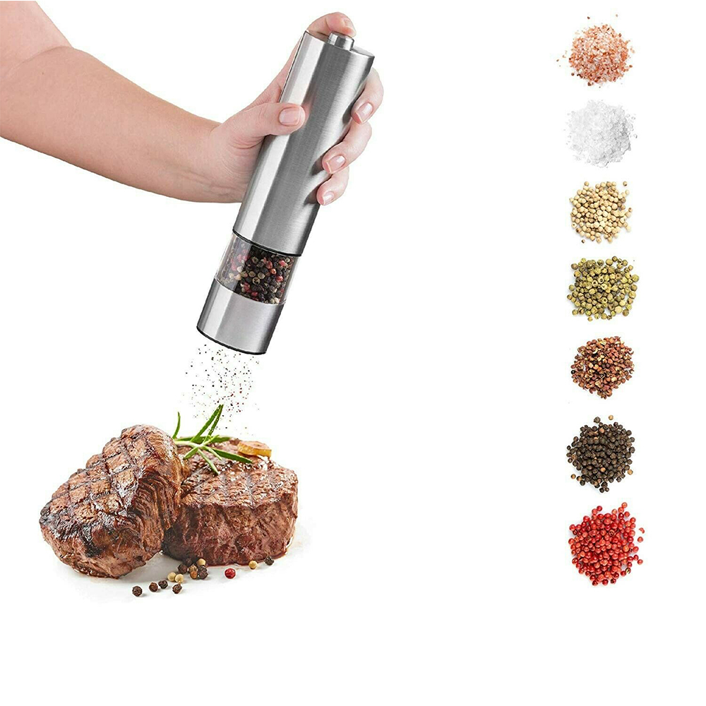 Electric Pepper Grinder Spice Mill and Automatic Grinder_2