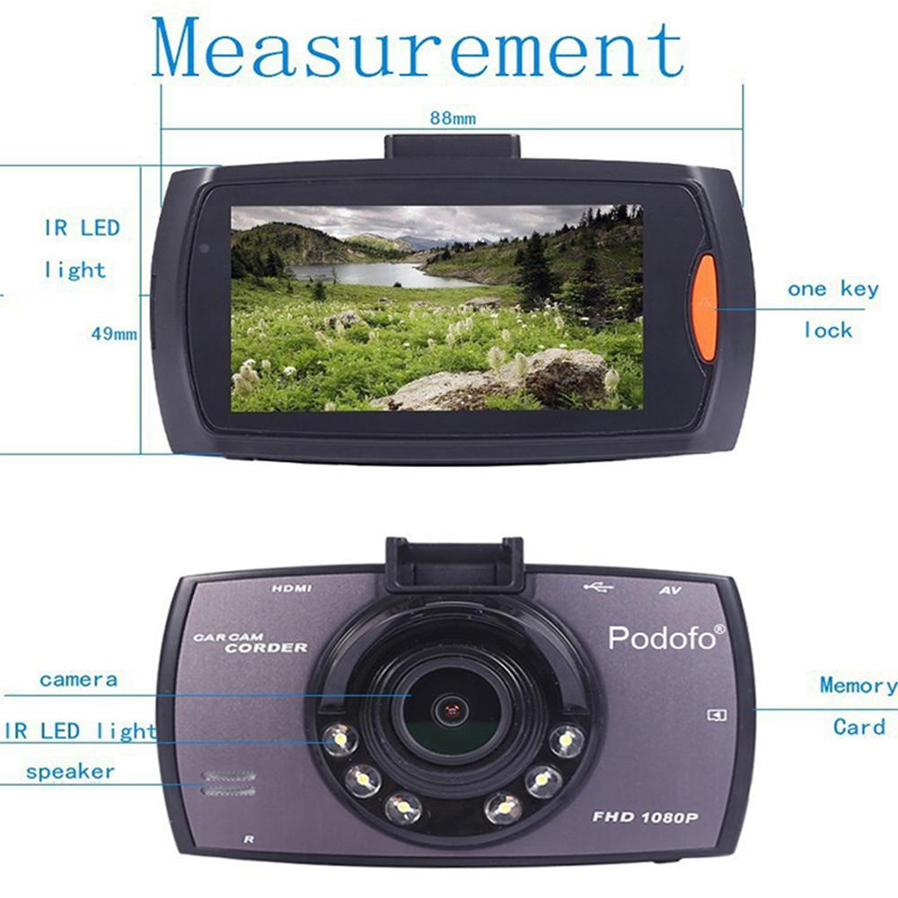Full HD 1080p Car Dash Camera with FREE Reverse Camera_9