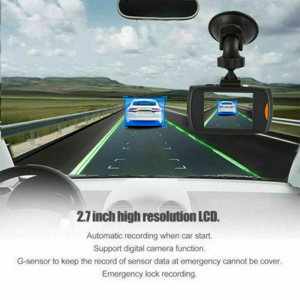 Full HD 1080p Car Dash Camera with FREE Reverse Camera_8