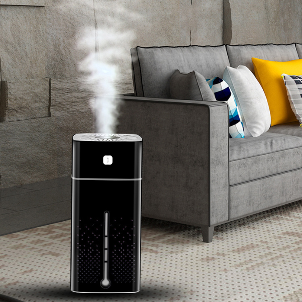 Large Capacity Air Humidifier Essential Oil Diffuser with LED_2