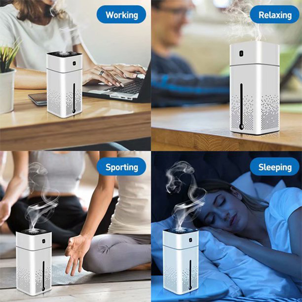 Large Capacity Air Humidifier Essential Oil Diffuser with LED_9