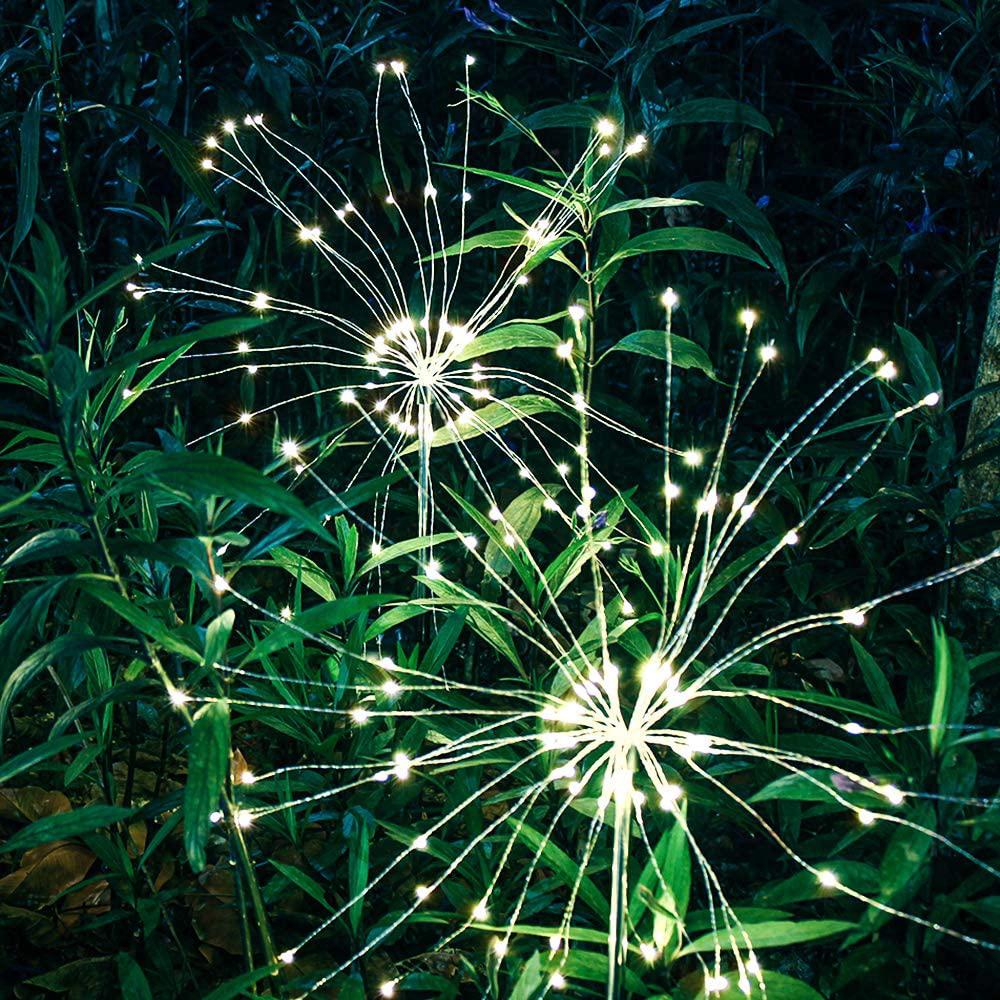 120 LED Solar Powered Outdoor Sparkling Fireworks LED Lights_4