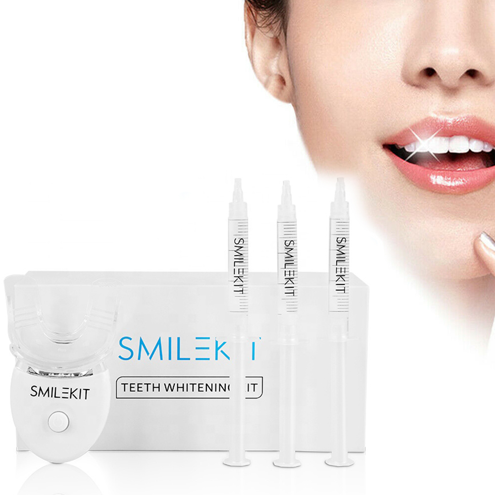 Teeth Whitening Kit with LED Light Professional Oral Cleaning Machine_3