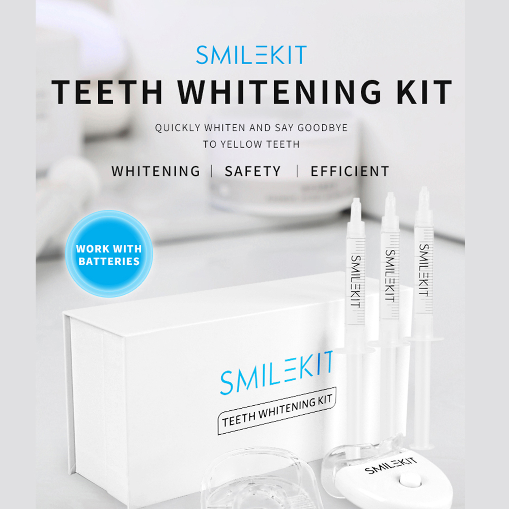 Teeth Whitening Kit with LED Light Professional Oral Cleaning Machine_8