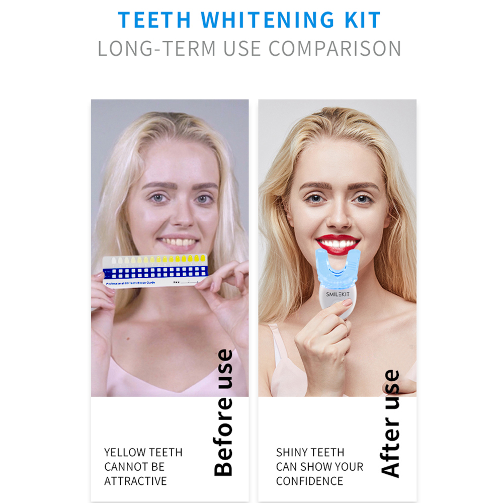 Teeth Whitening Kit with LED Light Professional Oral Cleaning Machine_4