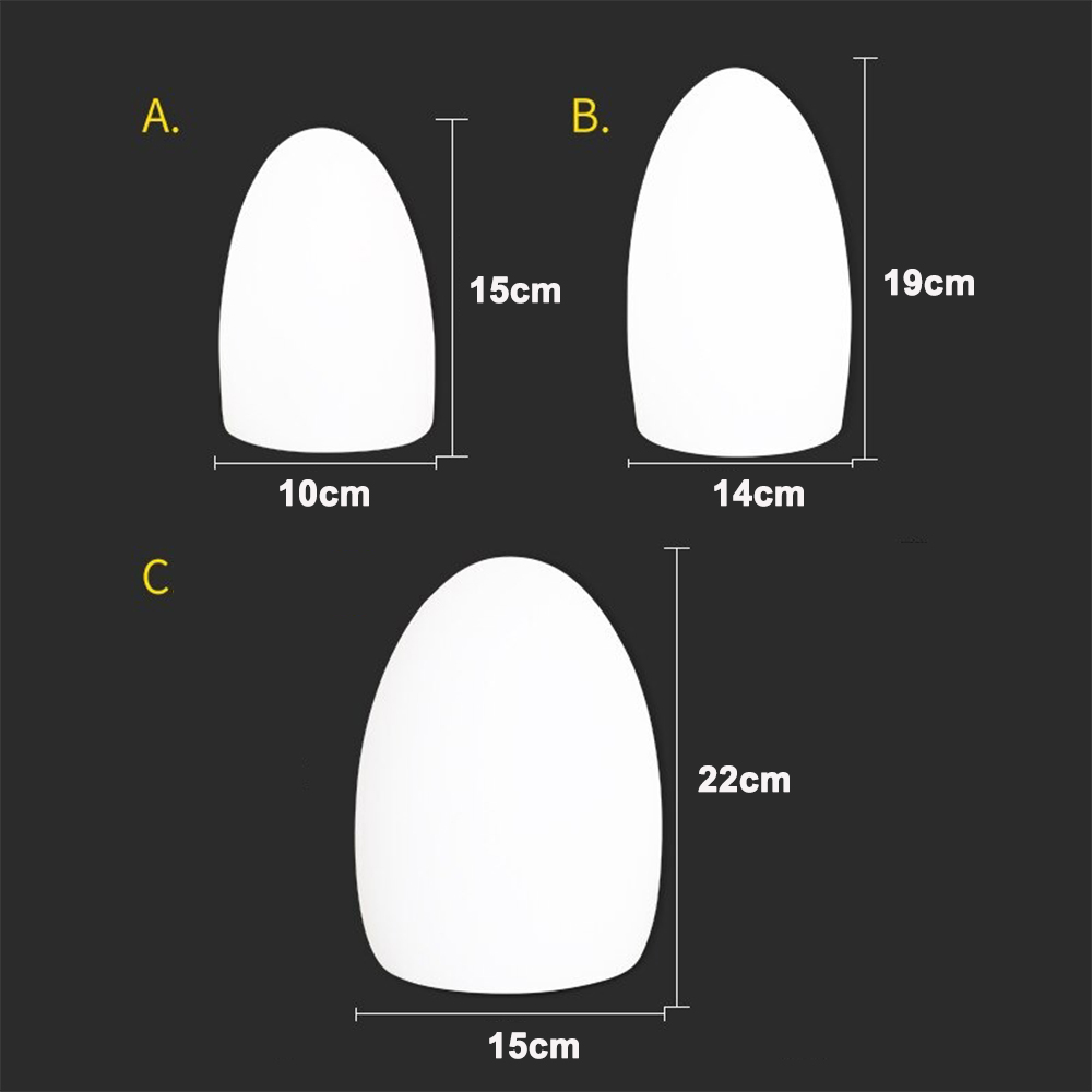 Remote Controlled Cordless Rechargeable LED Room Orb Night Light_7