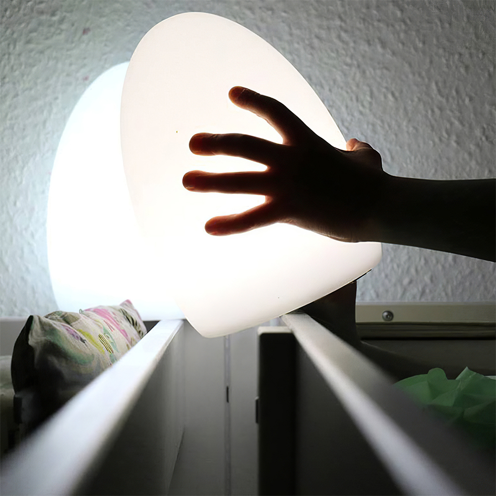 Remote Controlled Cordless Rechargeable LED Room Orb Night Light_5