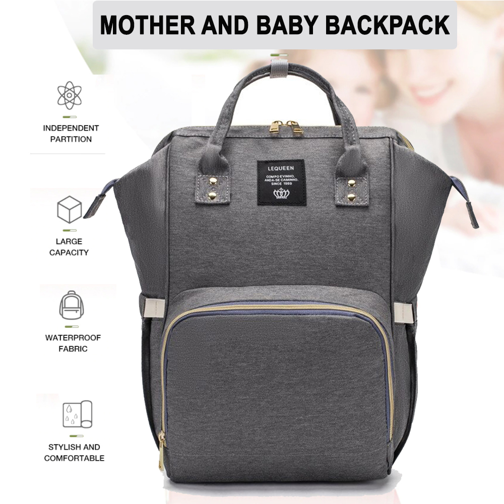 Large Capacity Maternity Travel Backpack with USB Charging Port_4