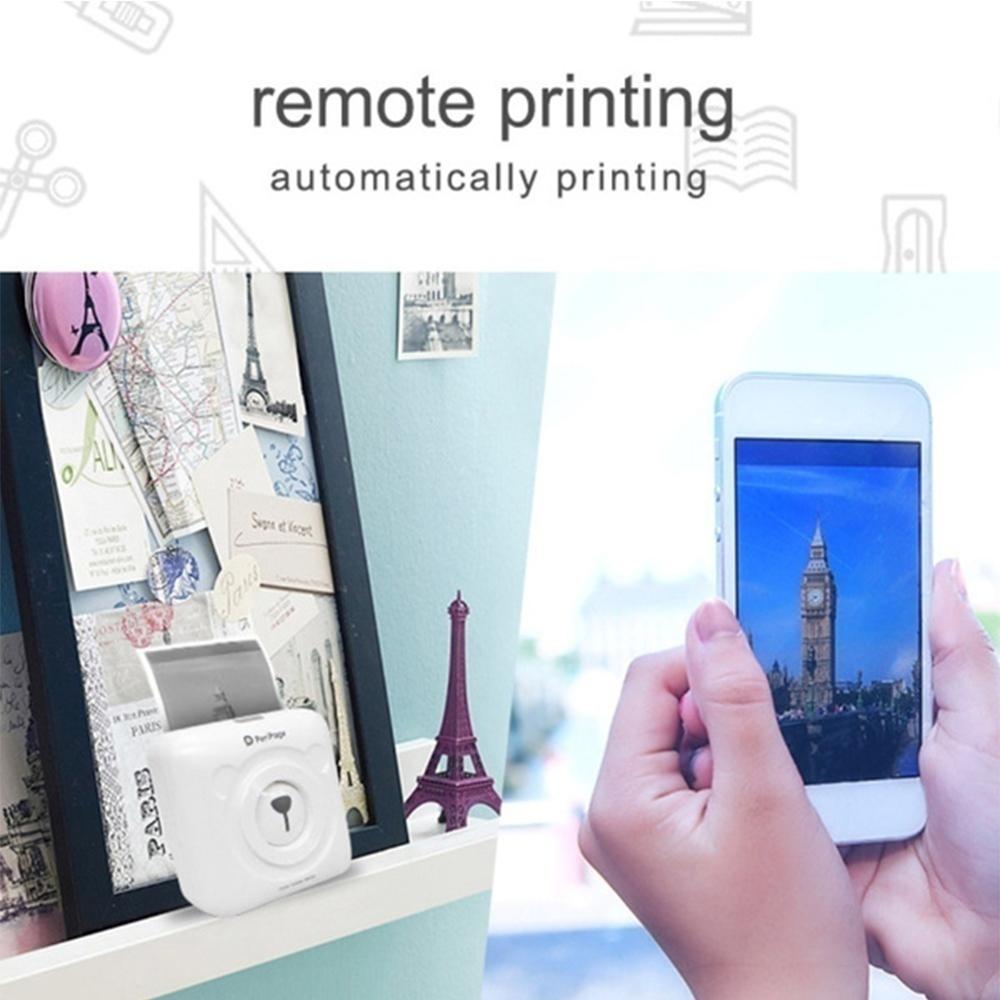 PeriPage Portable Mini Pocket Thermal Paper Photo Printer with Paper_7