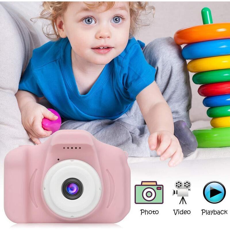 Mini Digital Kids Camera with 2 Inch screen in 3 Colors_3