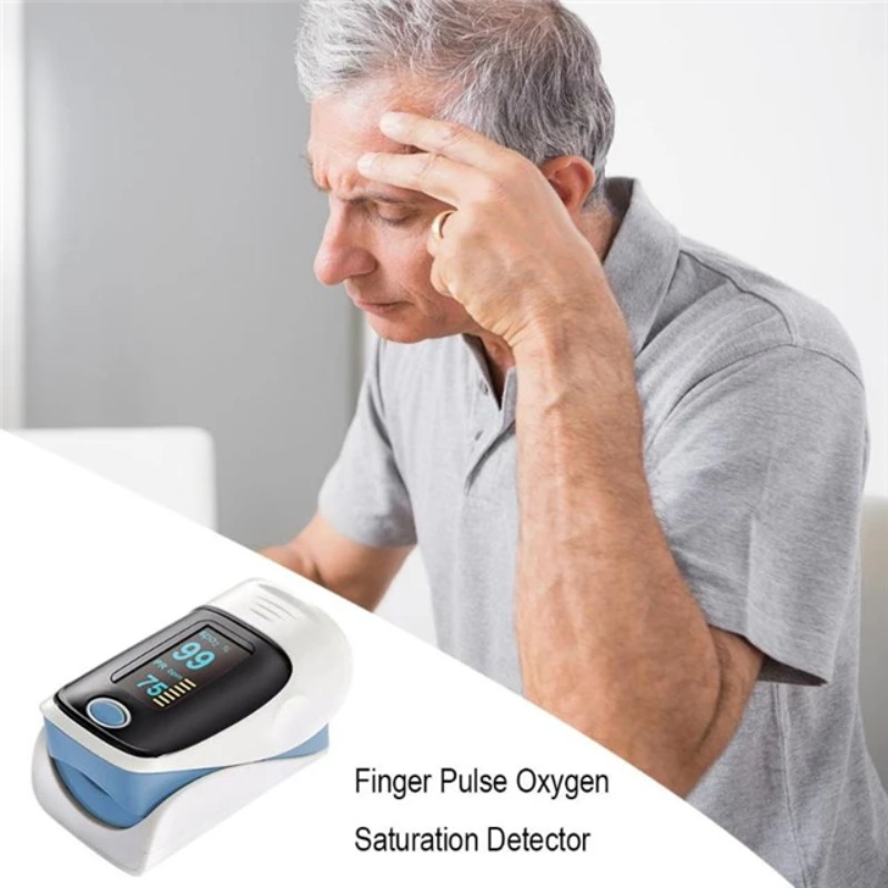 Pulse oximeter fingertip heart rate monitor_1
