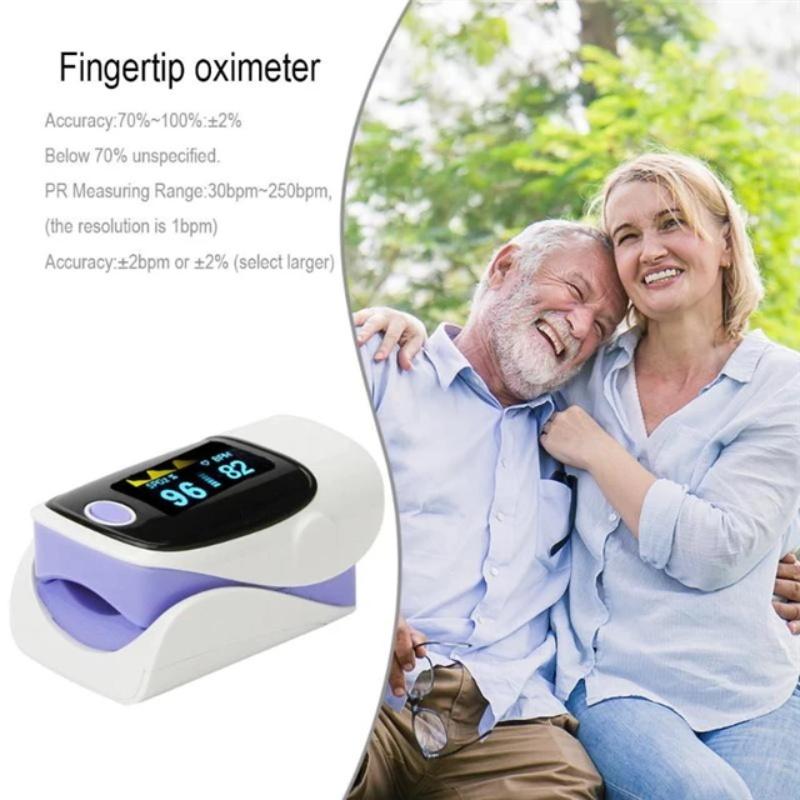Pulse oximeter fingertip heart rate monitor_2