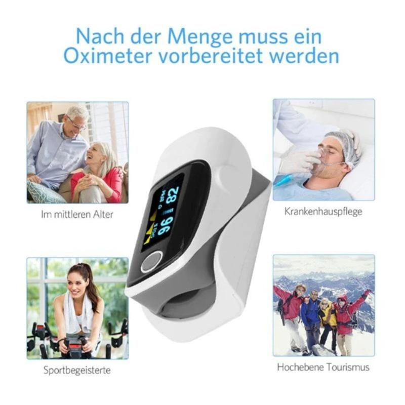 Pulse oximeter fingertip heart rate monitor_3