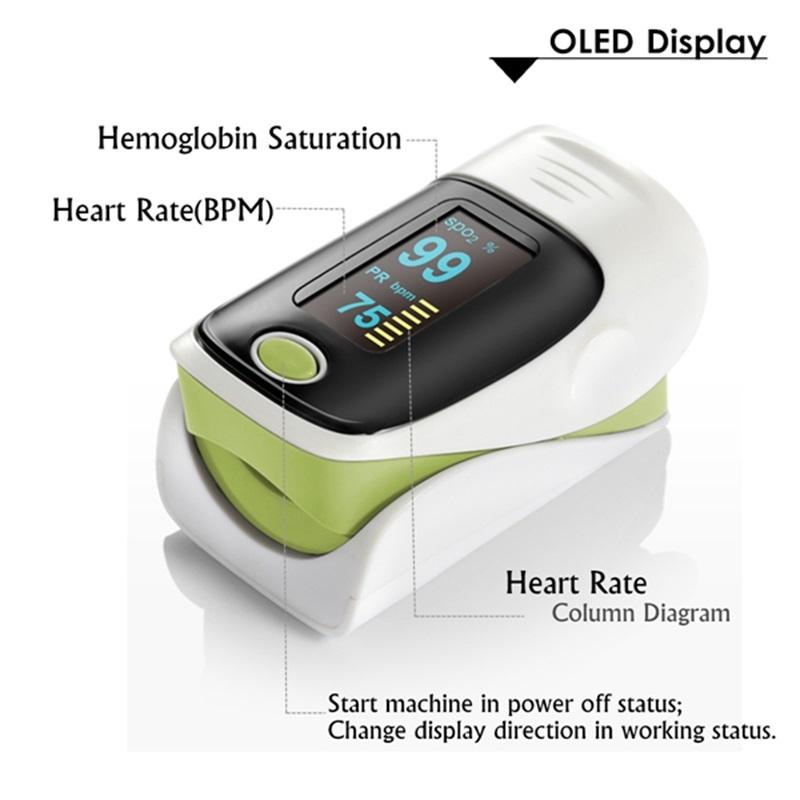 Pulse oximeter fingertip heart rate monitor_5