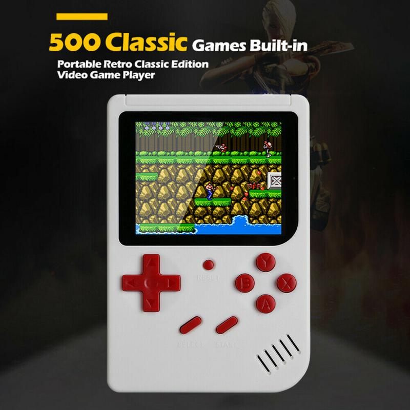 Built-in 500 Games Portable Game Console_8