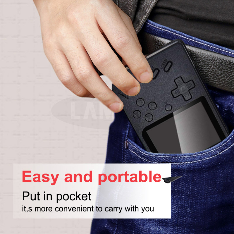 Built-in 500 Games Portable Game Console_9