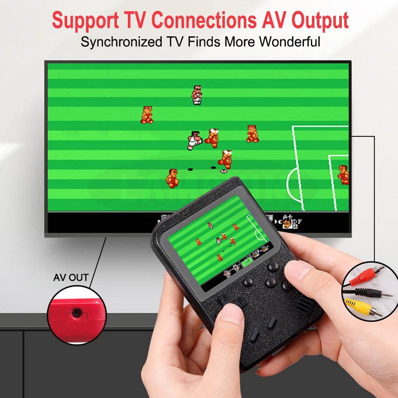 Built-in 500 Games Portable Game Console_1