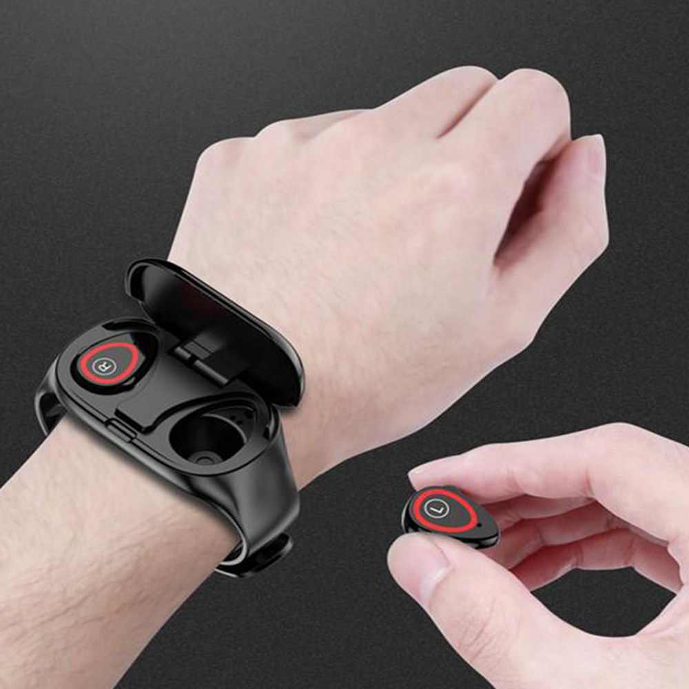 2-in-1 M1 Bluetooth Headset and Fitness Tracker Smart Bracelet_3