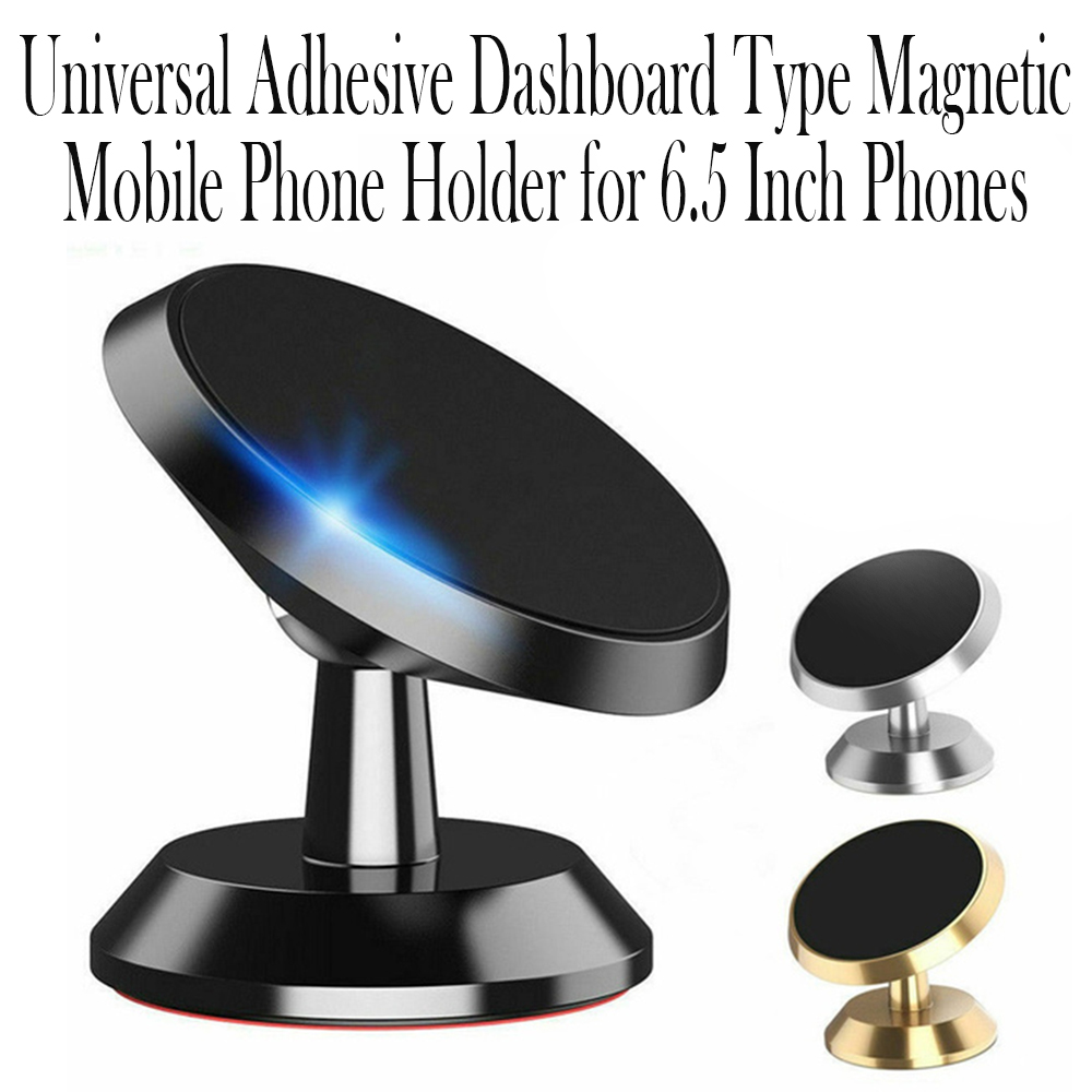 Universal Adhesive Dashboard Type Magnetic Mobile Phone Holder Cellphone Mount for 6.5 inch Phones_9