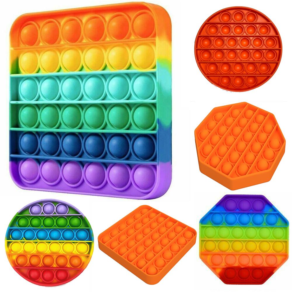 Push Bubble Fidget Sensory Arithmetic Concentration Toy_9