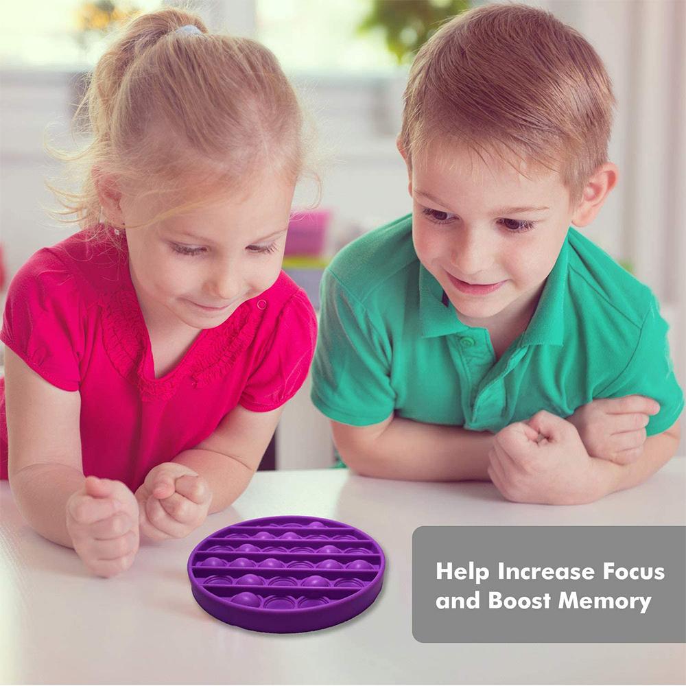 Push Bubble Fidget Sensory Arithmetic Concentration Toy_2
