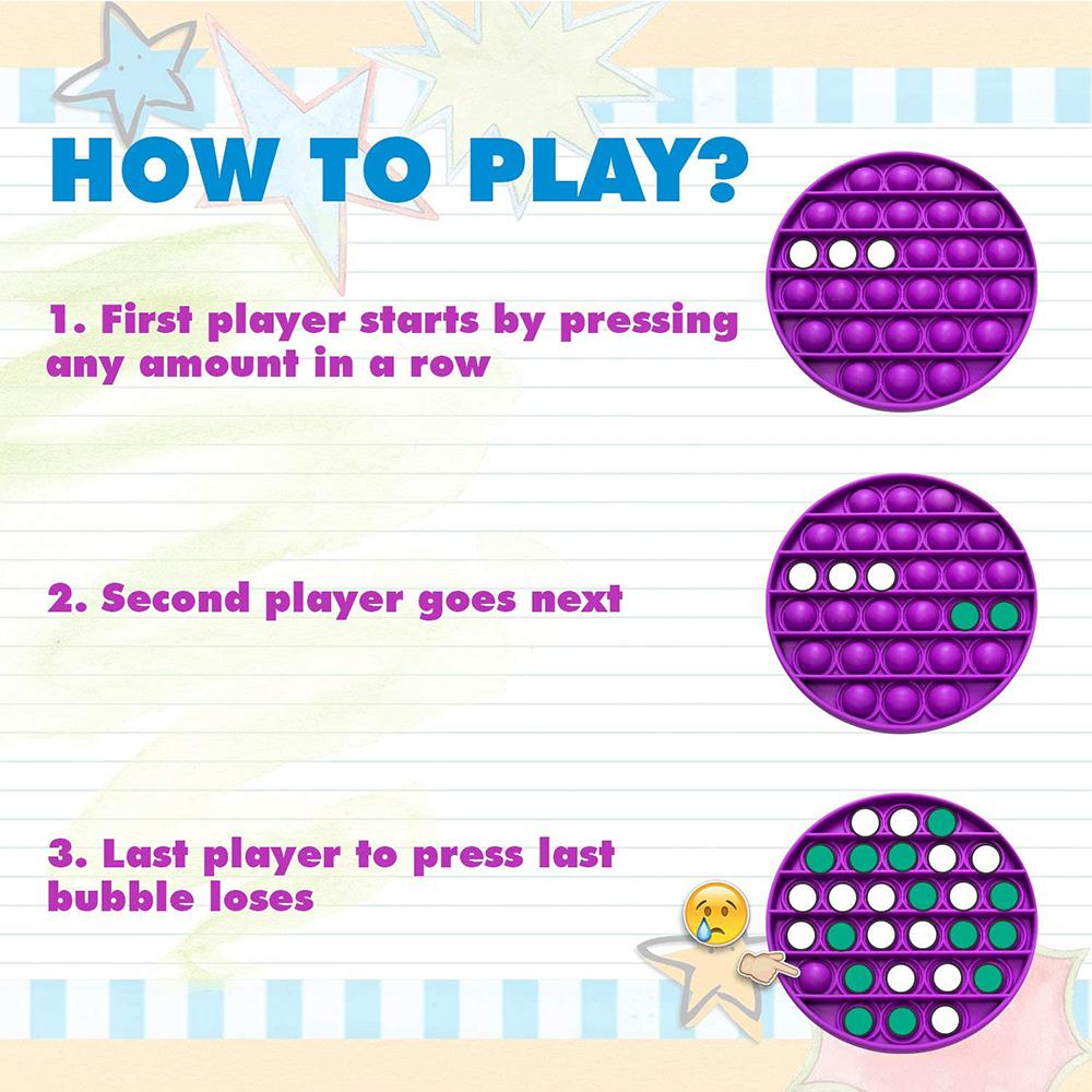 Push Bubble Fidget Sensory Arithmetic Concentration Toy_5