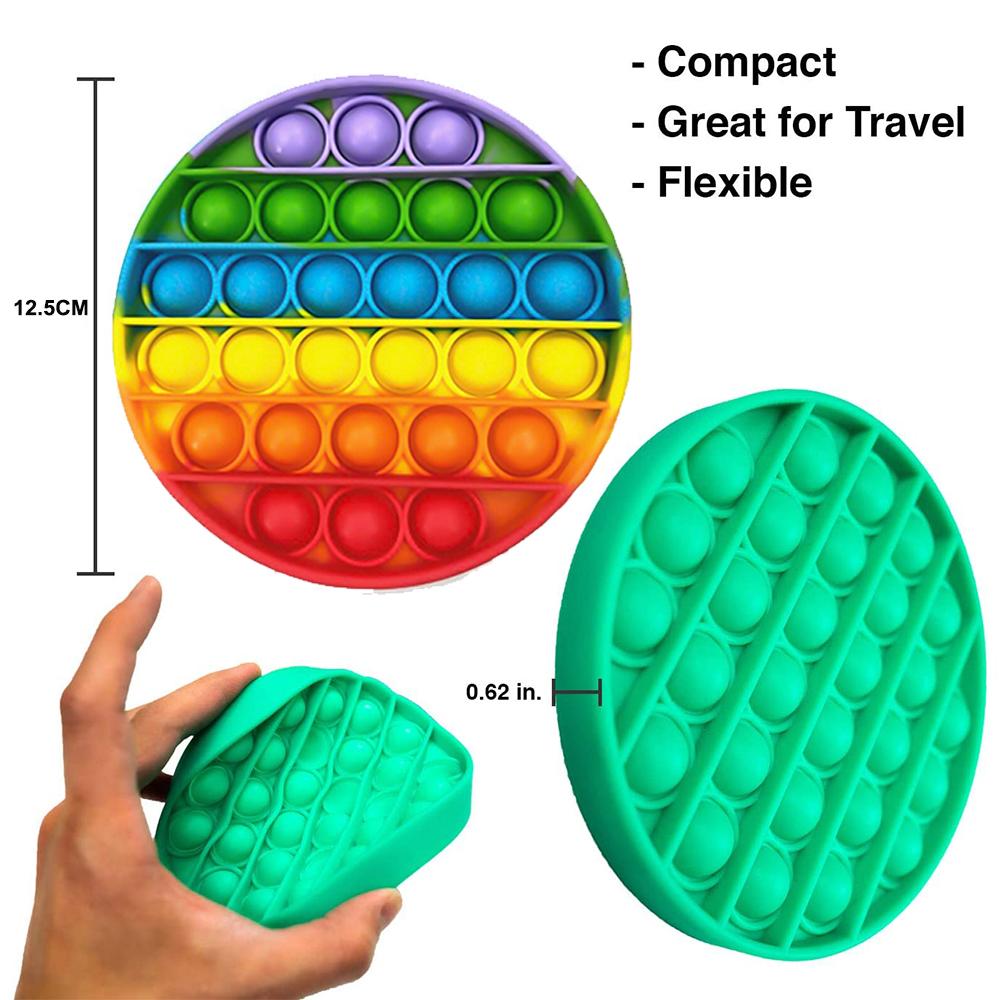 Push Bubble Fidget Sensory Arithmetic Concentration Toy_8