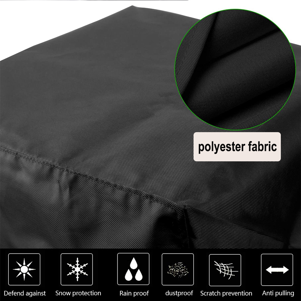 Waterproof Polyester Outdoor Furniture Protective Cover in 5 Sizes_5