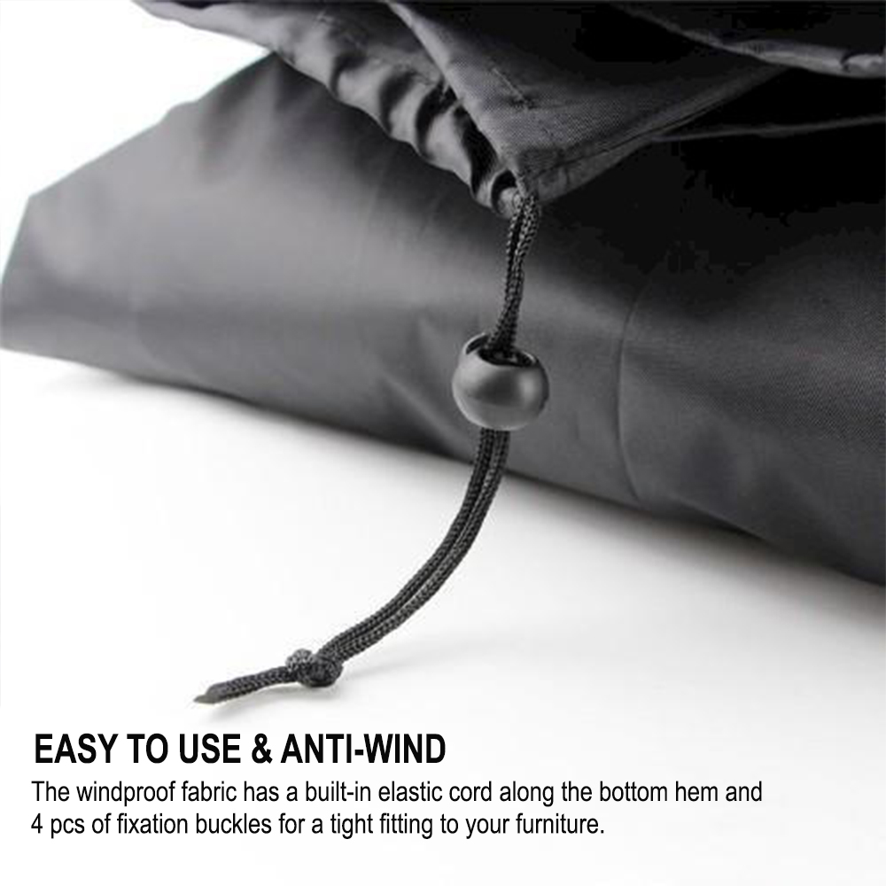Waterproof Polyester Outdoor Furniture Protective Cover in 5 Sizes_7