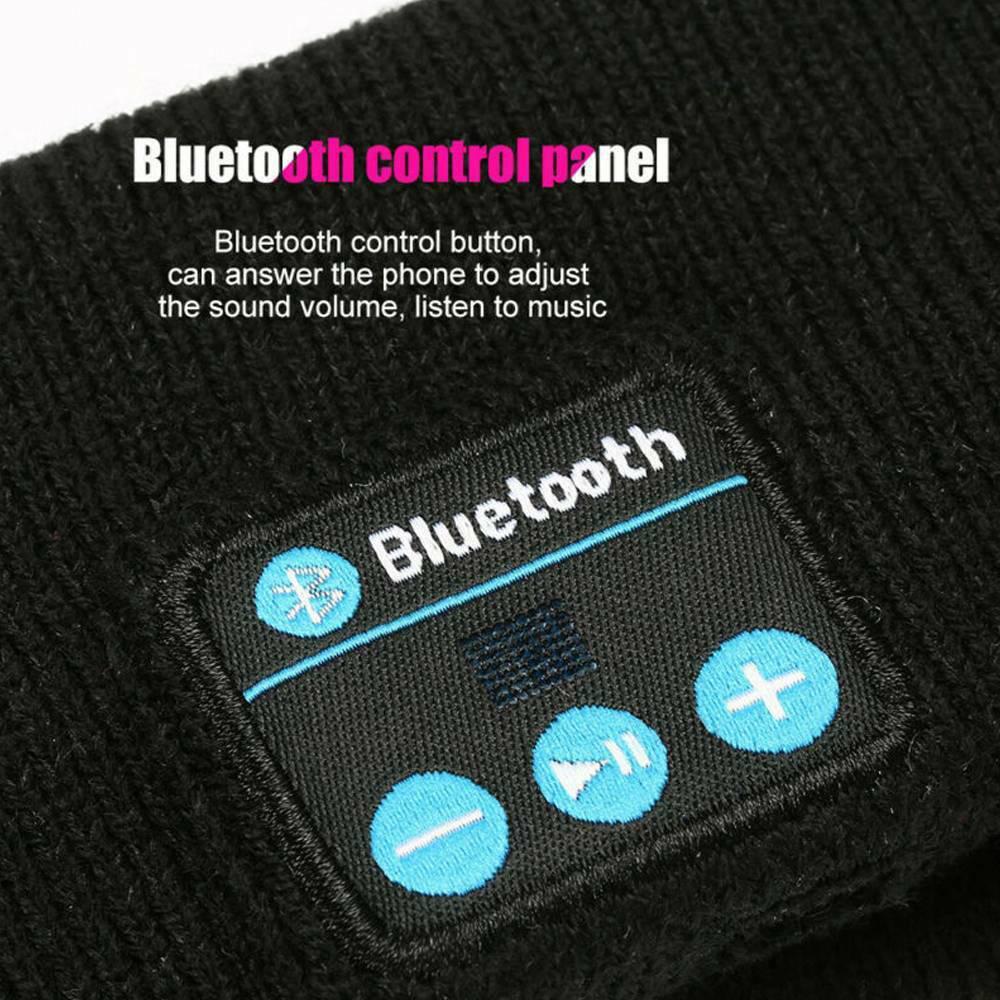 Musical Bluetooth Exercising Rechargeable Sleeping Headband_5