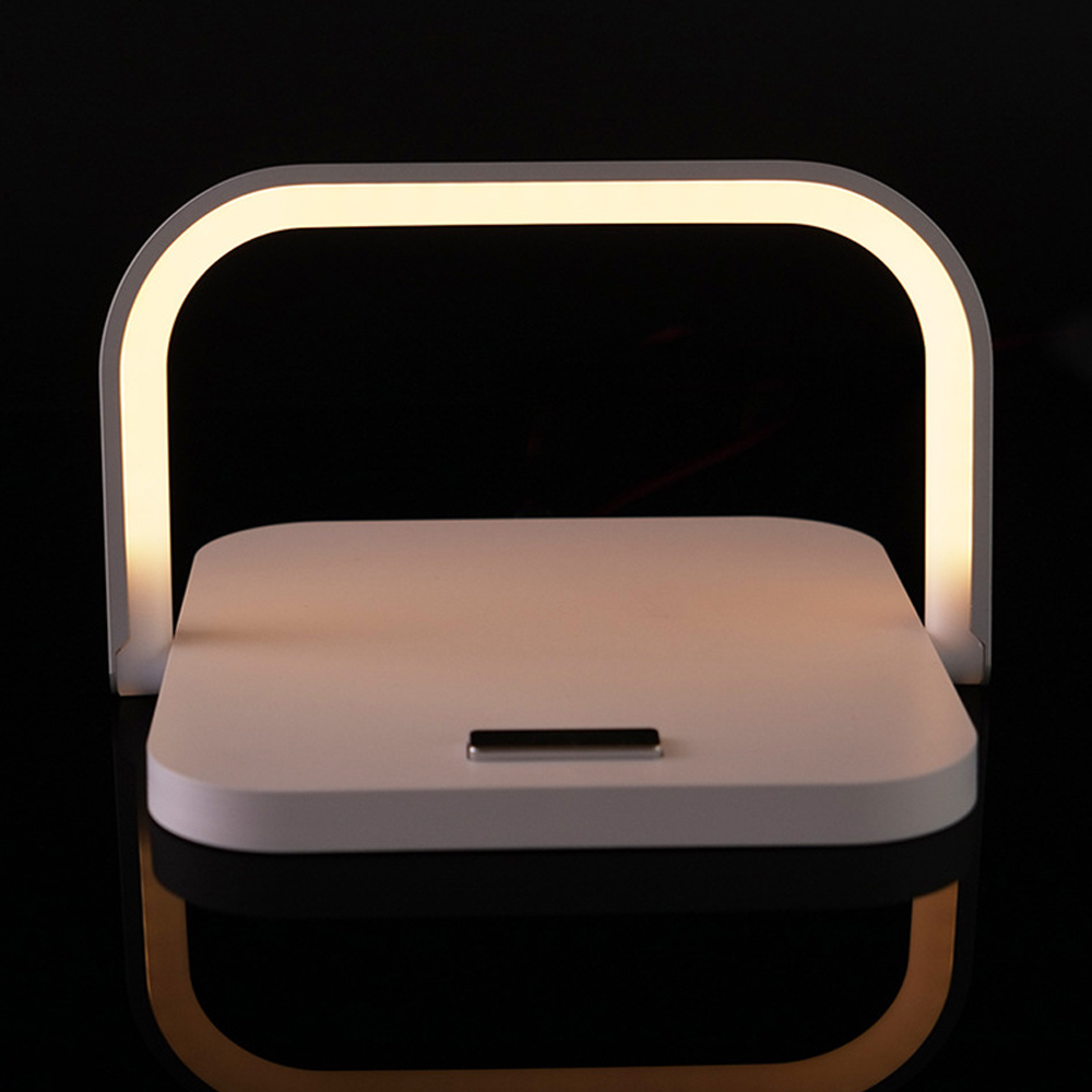 2-in-1 Folding Wireless Charger and Desktop LED Lamp with Eye Protection_5