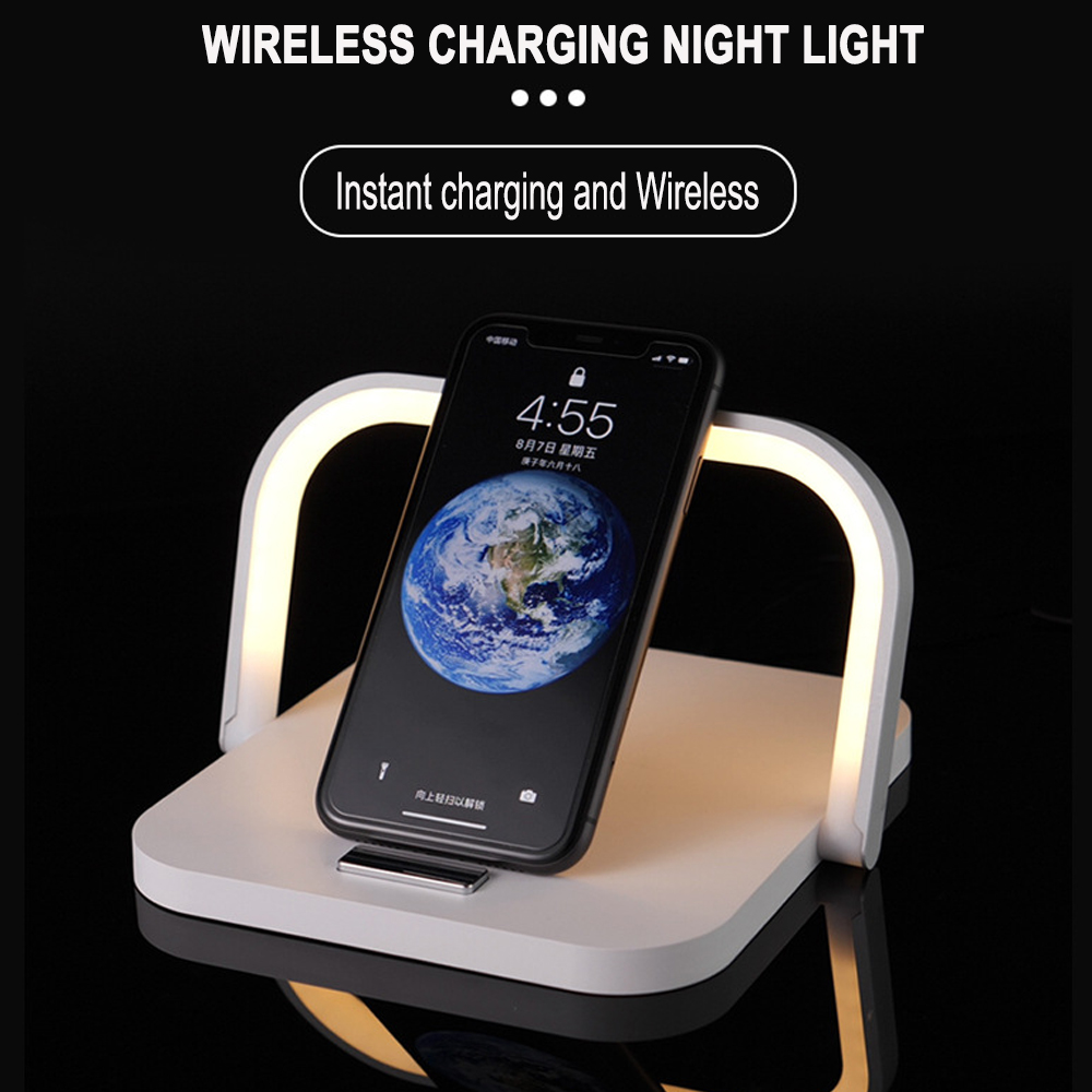 2-in-1 Folding Wireless Charger and Desktop LED Lamp with Eye Protection_6