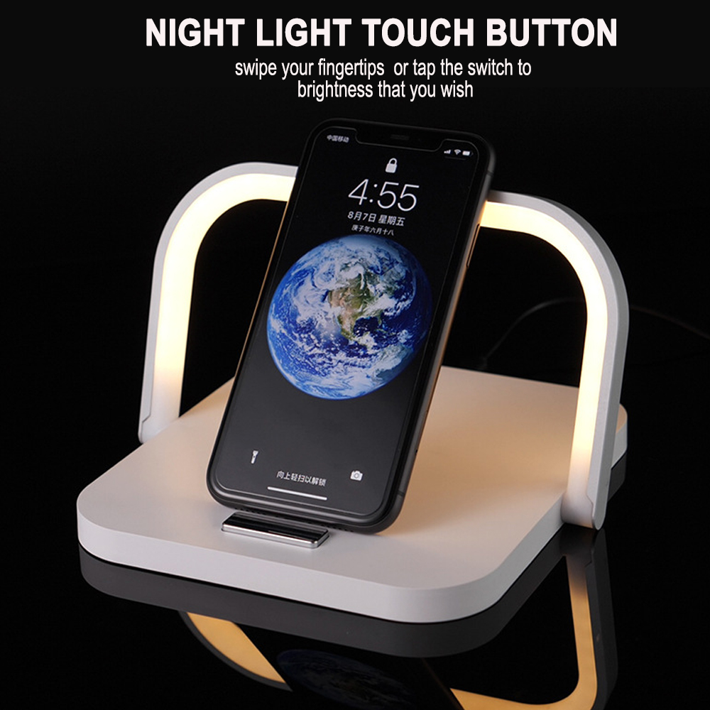 2-in-1 Folding Wireless Charger and Desktop LED Lamp with Eye Protection_1