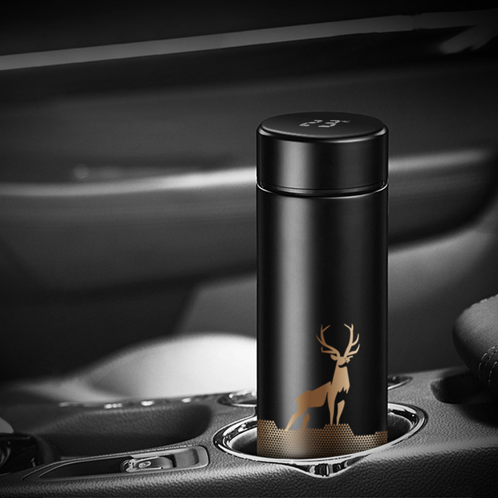 Insulated Hot Water Bottle Vacuum Thermos Flask with LCD Display_8
