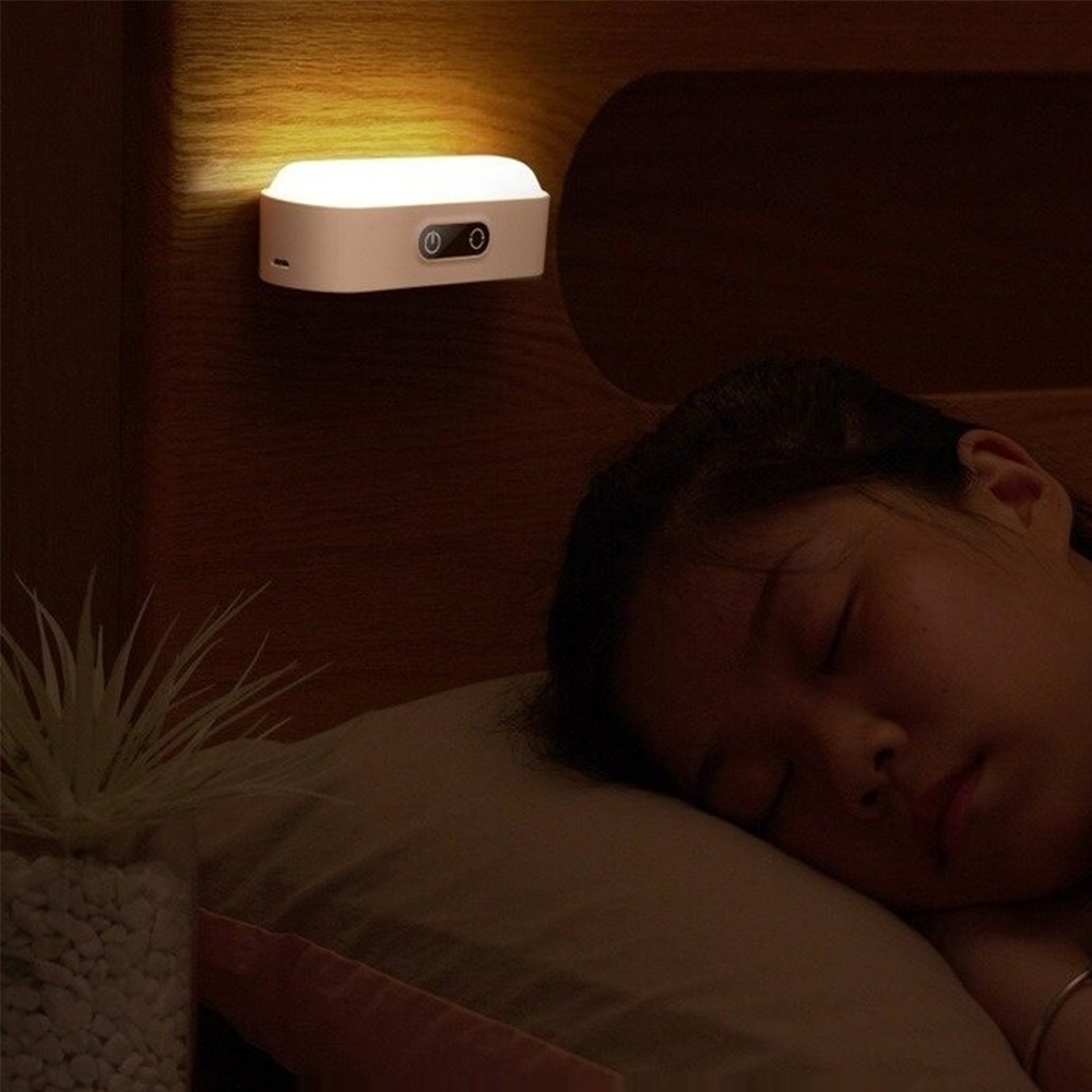 Eye Protection Dimmable Reading LED Night Light Rechargeable Lamp_7