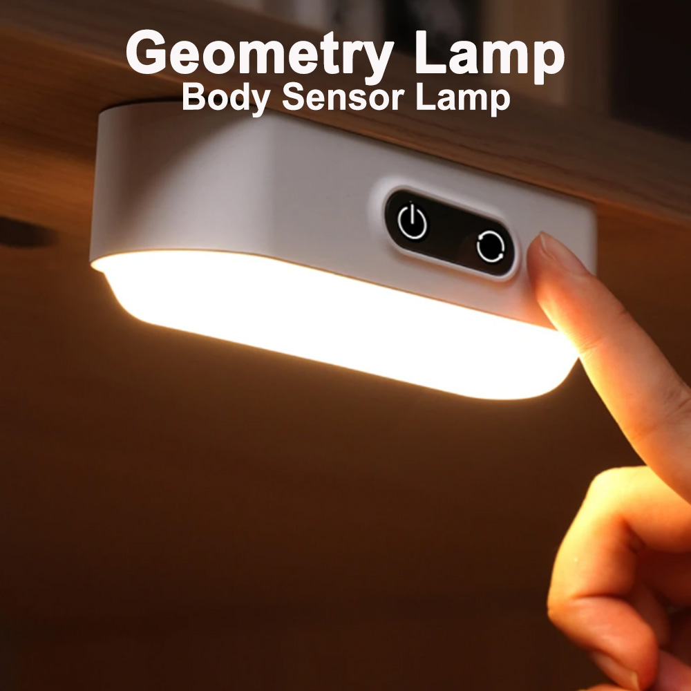 Eye Protection Dimmable Reading LED Night Light Rechargeable Lamp_9