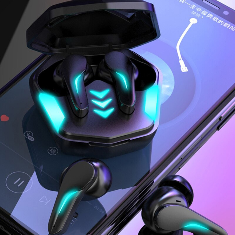 Low Latency TWS Wireless Rechargeable BT Gaming Headphones_2