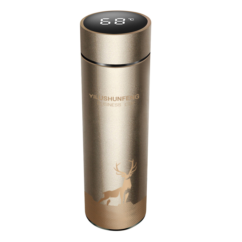Insulated Hot Water Bottle Vacuum Thermos Flask with LCD Display_4