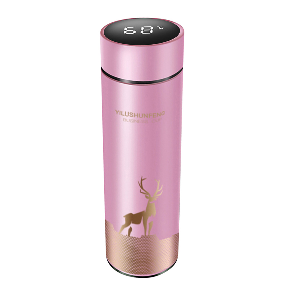Insulated Hot Water Bottle Vacuum Thermos Flask with LCD Display_6