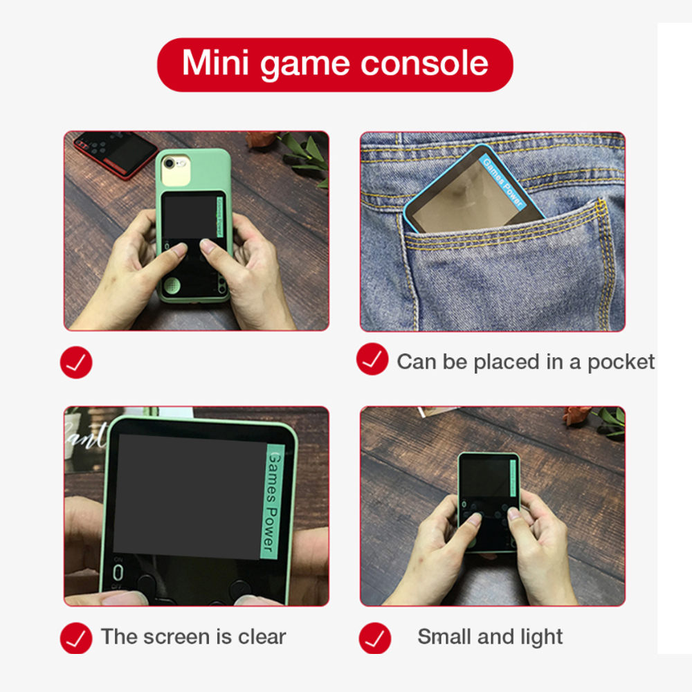 500-in-1 Portable Lightweight Rechargeable Ultra-Thin Gaming Console_1